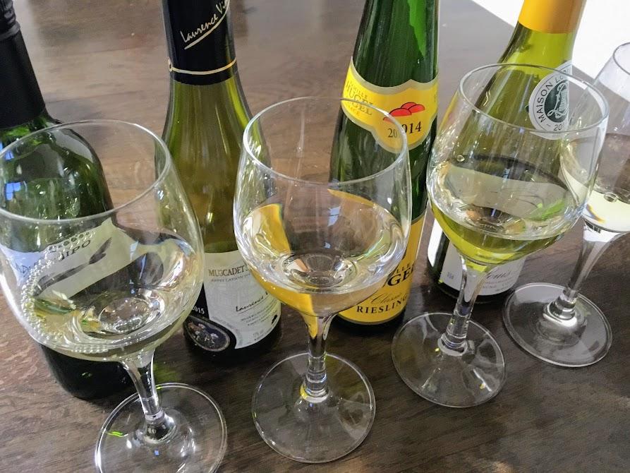 テイスティング 白ワイン